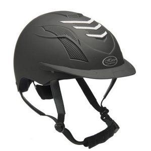 Ratsastuskypärä Sparkling, Horse ComfortTyylikäs kypärä kauniilla kimalleyksityiskohdalla. useampi tuuletus aukko ja irroitettavat kankaat sisällä.